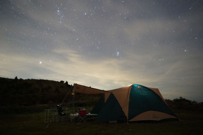 photo by 梶ヶ森キャンプ場 山荘 梶ヶ森/梶ヶ森 天文台