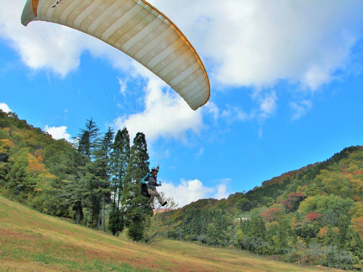 photo by 【最安値】岐阜県のパラグライダーの体験ツアー・スクール|そとあそび
