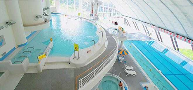photo by プール・バーデ 施設案内|ラビスパ裏磐梯 - 福島県の温泉&室内プール施設
