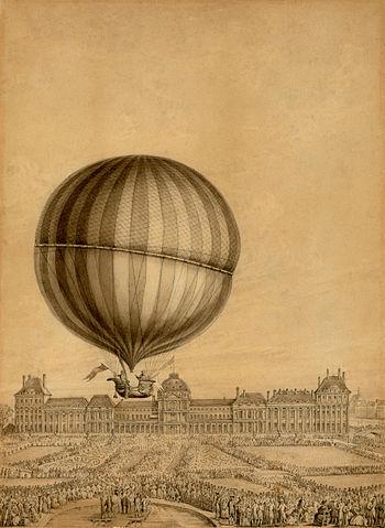 photo by ジャック・シャルルの気球- Wikipedia