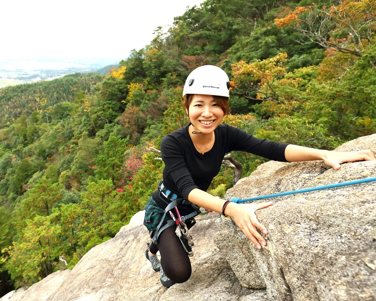 photo by 比良山系(獅子岩/大原) ロッククライミング/ゼログラビティー|そとあそび