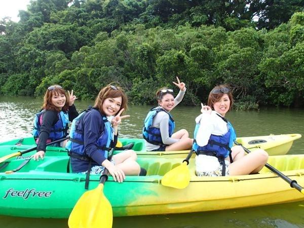 photo by 沖縄本島・比謝川 マングローブカヤックツアー/イーズ そとあそび