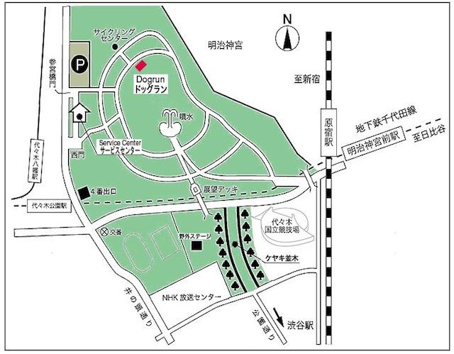 photo by 代々木公園ドッグラン公式HP
