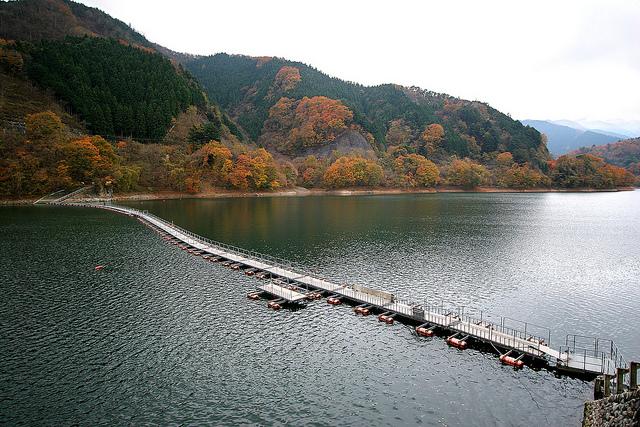 photo by Lake Okutama - 04 | Nov. 24, 2008 奥多摩 | Kabacchi | Flickr