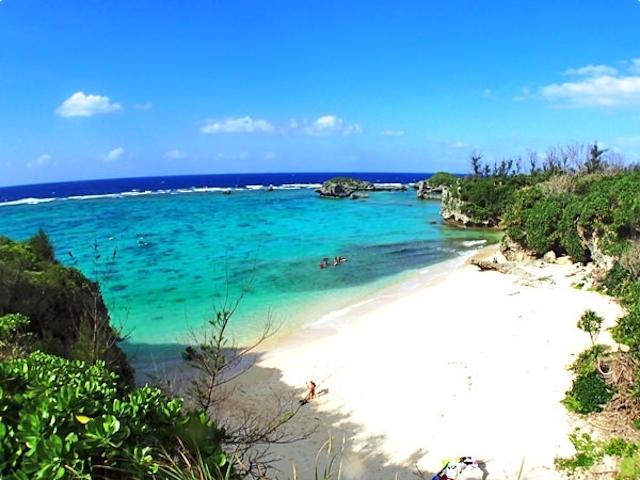 プライベート感たっぷりの白い砂浜!photo by そとあそび