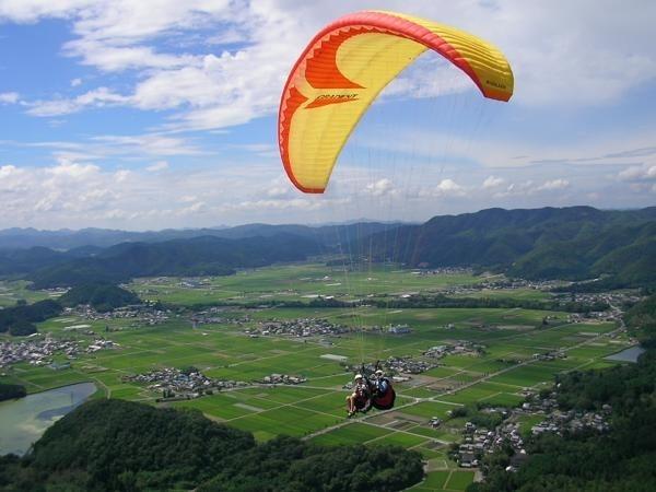 photo by 《高低差470m!》 タンデムフライトコース ◆記念撮影付き(京都府・亀岡(保津川))|そとあそび