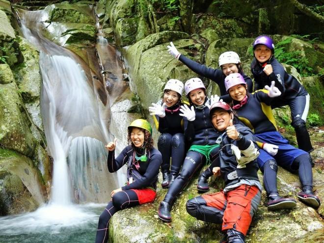 photo by関西・近畿のキャニオニング・シャワークライミングの体験ツアー|そとあそび
