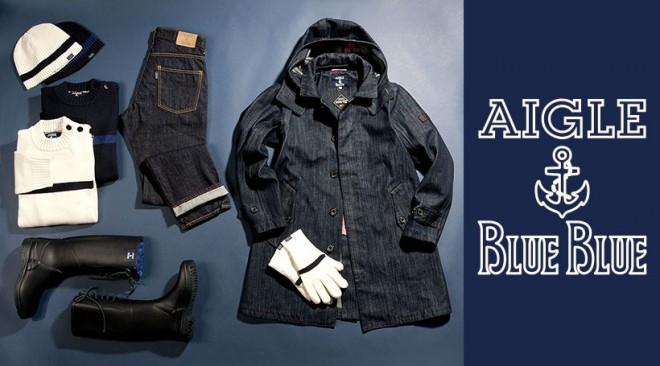 photo by AIGLE・BLUE BLUE SPECIAL COLLABORATION