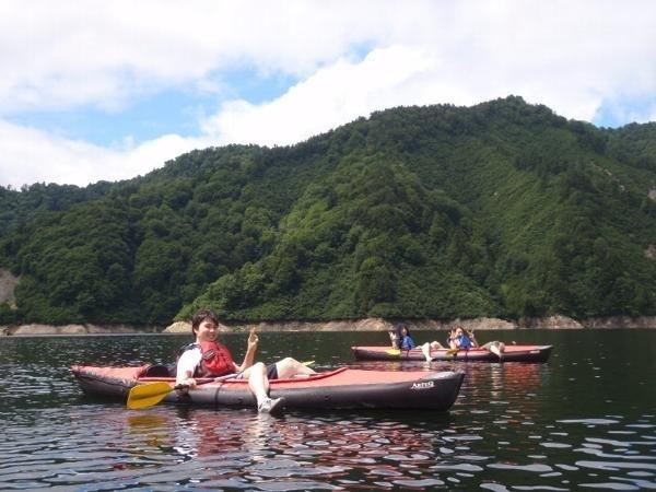 photo by みなかみ カヌー・カヤックツアー(湖)/フォレスト&ウォーター|そとあそび