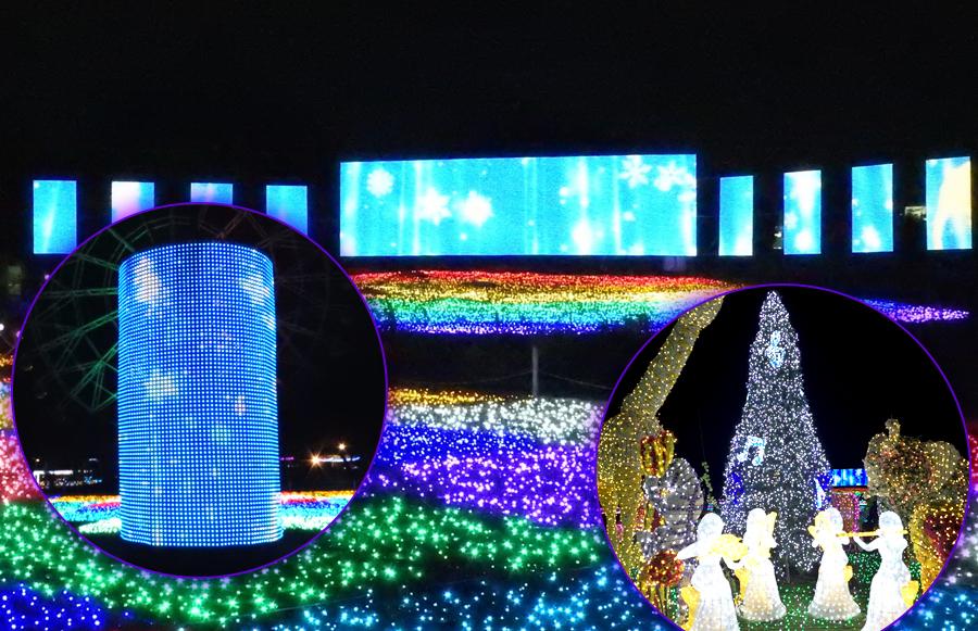 photo by 東武動物公園イルミネーション公式HP