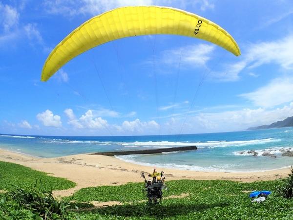 photo by 【奄美の青い海とサンゴ礁を楽しむ遊覧飛行!】タンデムフライト◆写真付き(鹿児島県・奄美大島) そとあそび