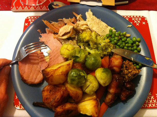 photo by 249-365 (Year 7) Christmas dinner :) | Flickr - Photo Sharing!