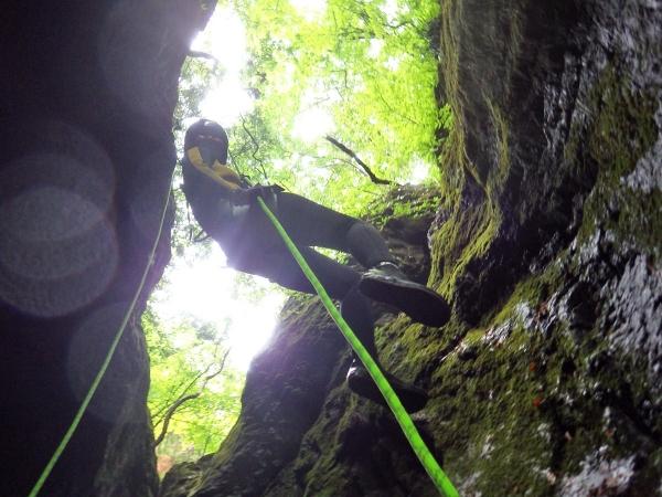 photo by もののけ渓谷キャニオニング 半日コース◆写真付(東京都・青梅・奥多摩)|そとあそび