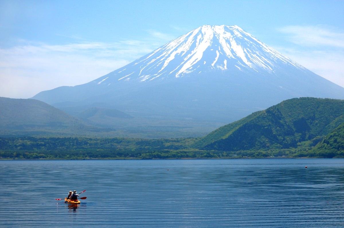 富士五湖 カヌー