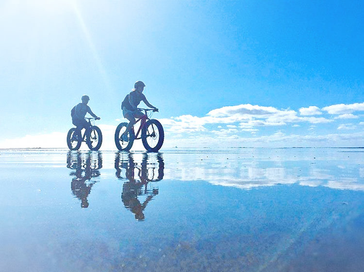 鳥取県 鳥取砂丘 マウンテンバイク ファットバイク