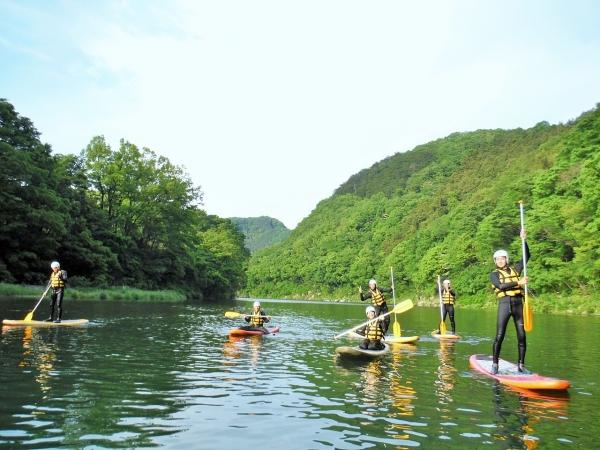photo by 《自由度NO1!SUPボードで川下り》 リバーSUP 半日コース(埼玉県・秩父・長瀞) そとあそび