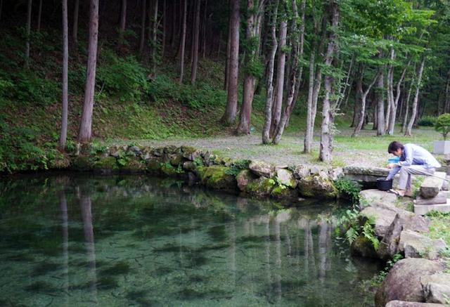 photo by ナラ入沢渓流釣りキャンプ場