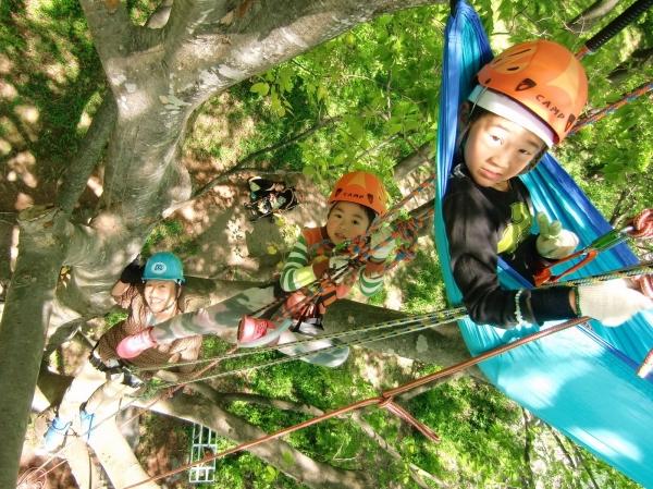photo by 《地上10m!ハンモックに揺られてカフェタイム》木のぼりツアー(群馬県・水上(みなかみ))|そとあそび