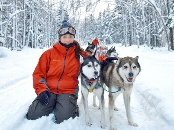 photo by 《1人乗りそりで行く!冒険犬ぞりツアー》 1DAYアドベンチャー ◆温かランチ/防寒着レンタル付!(北海道・知床・網走・北見)|そとあそび