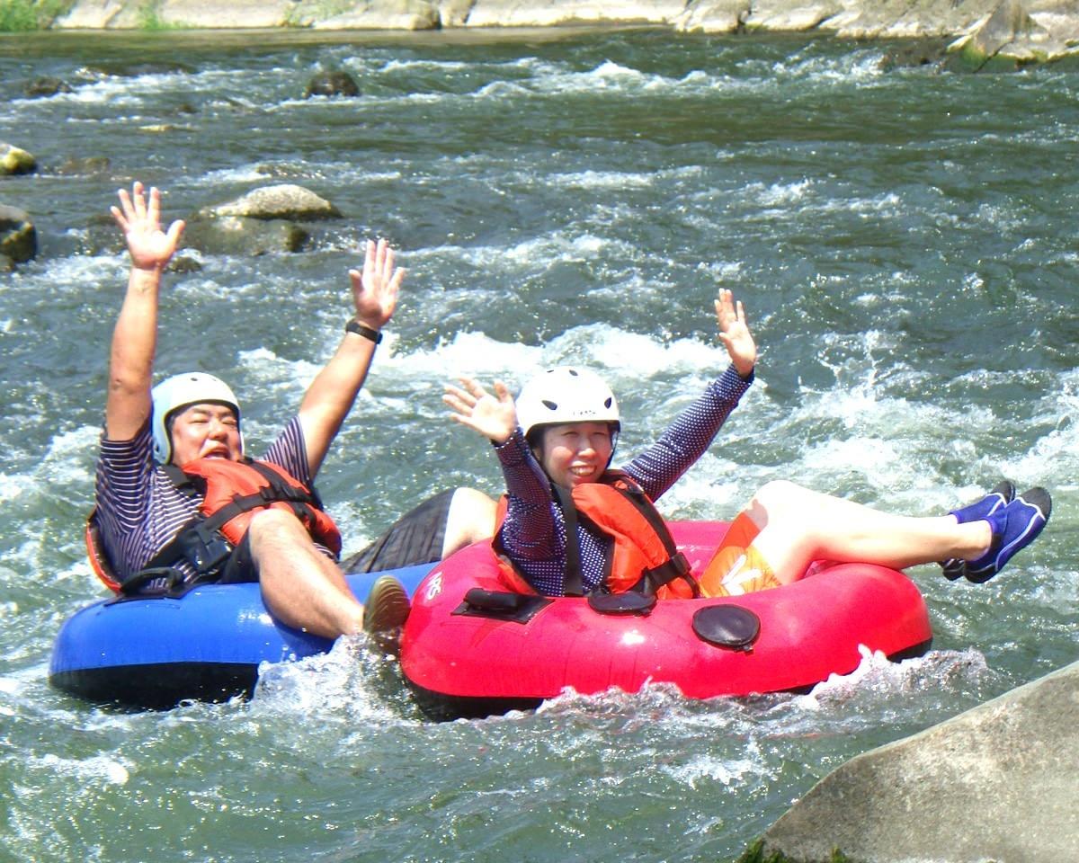photo by 【チュービングも楽しめる!】 富士川上流ラフティング 半日コース ◆写真付(山梨県・身延)|そとあそび
