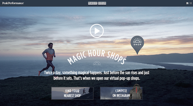 Magic Hour Pop-Up Shops