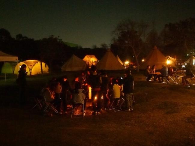 焚火キャンプ3