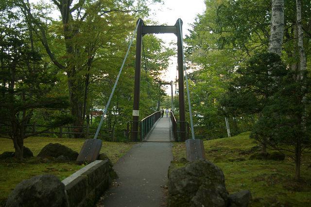 ふきだし公園吊り橋