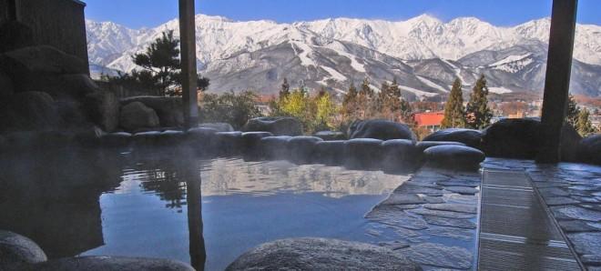 photo by 白馬ハイランドホテル・白馬姫川温泉「天神の湯」HP