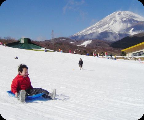 photo by 富士山2合目に冬のあそびが大集合! | 静岡県 遊園地 富士山の自然と遊ぶ ぐりんぱ-Grinpa-