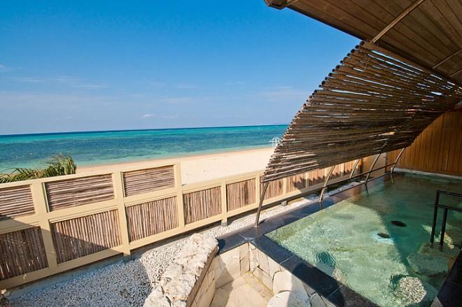 photo by サウナ付スパ 浜の湯 | リラクゼーション | リザンシーパークホテル谷茶ベイ | 沖縄県 恩納村 リゾートホテル