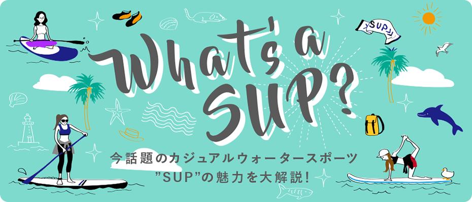 """今話題のSUP(サップ)ってなに? 今話題のカジュアルウォータースポーツ""""SUP""""の魅力を大解説!"""